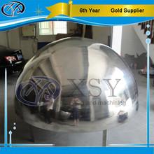 gazing stainless steel half sphere / 304 hollow steel half ball