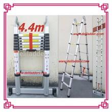 4.4m Aluminum Domistic A-type Telescopic Bamboo Ladder