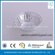 round bakeware dishes disposable aluminium round plate