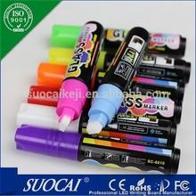 Factory price LED Writing Board fancy liquid chalk pens