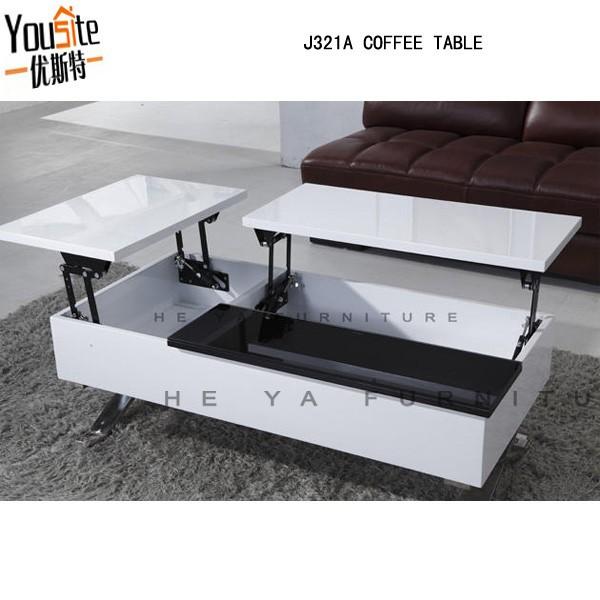 Modern Coffee Shop Design Pop Up Table Mechanism View Mechanism