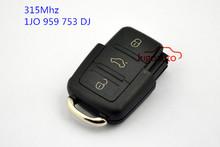 315Mhz 1JO959753DJ/9259-55 3 button remote key for VW skoda
