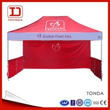 3x4.5 Folding Tent Canopy /metal Pop Up Tent/folding Canopy Shelter Shelter,Easy Up Tent,Custom Logo Printed Canopy Tent