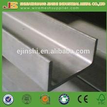 carbon prime hot rolled Not Perforated Mild Steel Strut U Channel
