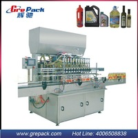 plastics bottles filling machines for vegetable oil/coconut oil