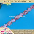 T0299- um( 0.34) contínuo do laço de tecido cortinas de flores e acessórios de vestuário