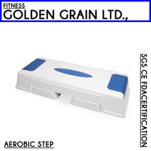 Fitness plastic aerobic step platform