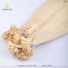 Hot!! 100% Real Human Hair Guaranteed Italy Socap Keratin Soft Safe good quality factory price nail tip hair