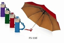FS Totes Port Men's Golf Sized Automatic Compact Umbrella