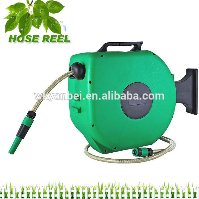 Garden Water Hose Reel,Spring Rewind Hose Reel,Flat Garden Hose Reel
