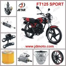 FT125 SPORT motorcycle spare part Front Wheel & Front Hub & Rim & Tire & Shoe Brake