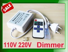 high voltage led lamps rf dimmer for 3528 5050 5630 white color strip
