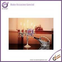 k2728 crystal globe wedding centerpiece beaded votive candle holders