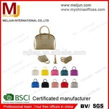 China wholesale shell shape women hangbags metallic gold color