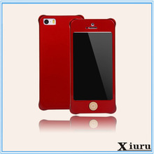 Hot funny smartphone case tempered glass metal aluminum back cover case for iPhone