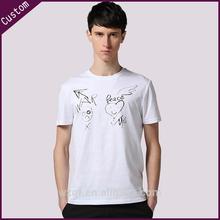 100%cotton t-shirt manufacturer cheap plain brand couple t-shirt