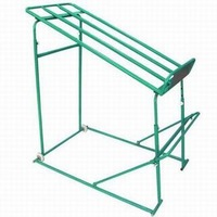 RH-VFM01 Movable Metal shelf 650*1000*1300 supermarket fruit and vegetable display rack 600*400*100 baskets holder shelf