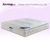Good quality 3-zone mable memory foam mattress