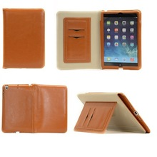 "Hot sell Oily PU leather 7"" tablet case for i pad mini tablet PC cover"