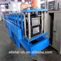 seamless gutter roll forming machine/rain gutter making machine