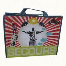 promotion polyester foldable shopping bag