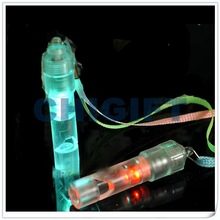 Crazy Party Accessories Lighted Plastic Whistle
