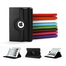 360 rotating pu leather case for ipad mini 3,Flip for ipad mini 3 case