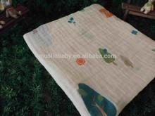 Cotton Muslin blanket white bamboo muslin Factory Fabric