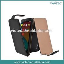 Ultra thin slim pu flip case for lg nexus 5