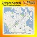 Barato e rápido de mar/transporte marítimo da china para toronto, ontário