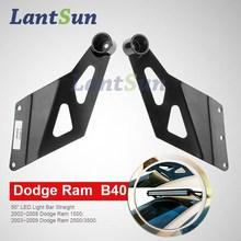 """truck 50"""" roof light bar bracket for Dodge Ram 1500/2500/3500 B40"""