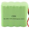 CEBA AA 2000mah 9.6v nimh Battery pack