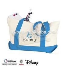 2015 100% cotton tote beach bag,canvas tote bag,cotton canvas tote bag