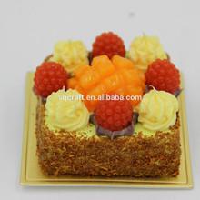 Miniature food magnet,Kids clay crafts cake fridge magnet/Yiwu sanqi craft factory