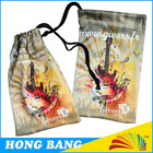 HB421 CMYK photo printing promotional gift drawstring pouch
