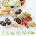 Oem embalagem e frutos secos torrados grãos de soja, nomes de todos os frutos secos lanches