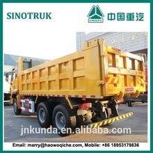 6*4 drive SINOTRUCK HAOHAN BRAND Environmental type muck transportation dump truck
