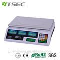 digital de bajo precio precio de informática escala de pesaje 30kg 40kg