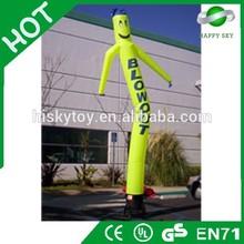 2015 Top quality Crazying man air dancer blower,inflatable fire air dancer,flower air dancer