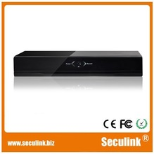 Hybrid for analog and HD dual signal 8CH AHD DVR with P2P ID QR code HDMI