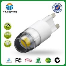 ODM OEM Factory YATE 2w g9 led bulb 3 Years Warranty g9 led 2w 2700k ceramic led g9 150lm