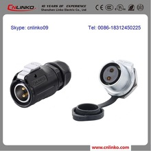 CNLINKO Provided Newest Product LP-20 2 Pin Female Male Power Cord Connector