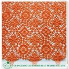Best quailty polyester garment lace saree