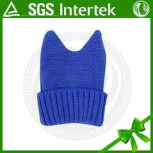 2015 alibaba website custom small business ideas cat ear knitted hat