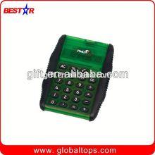 8 digital pocket notebook solar calculator