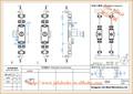 proveedor de china de la marca evergood 068 serie de rotación de la barra de bloqueo