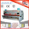 QC12Y-20x3200 E21 for Cutting Sheet Meta Plate Huaxia Brand Hydraulic Metal Cutting Machine