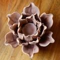 atacado 3d rara roxo flores artificiais baratos