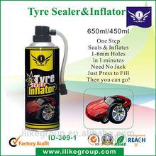 Aerosol Tire Inflator seals