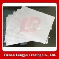 Edible oil filtering using filter paper